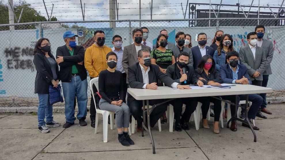 diputados de Semilla piden renuncia del presidente Alejandro Giammattei