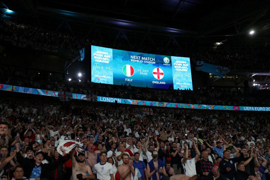 Italia vs. Inglaterra por la Euro 2020