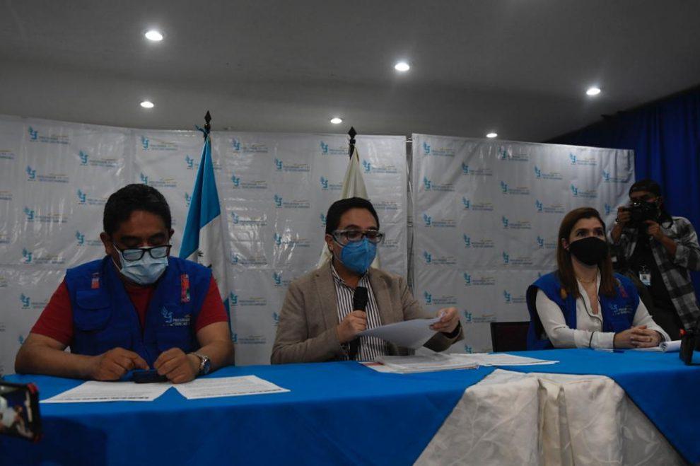 Juan Francisco Sandoval se pronuncia sobre su remoción de la FECI
