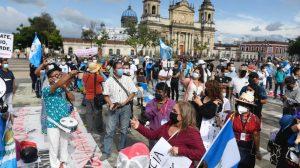 Manifestación en Plaza de la Constitución