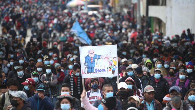 manifestaciones en Cuatro Caminos, paro nacional 29 de julio