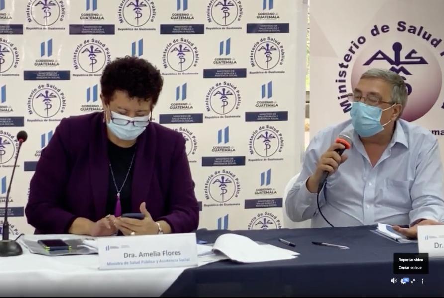 Guatemala se mantiene en la tercera ola de contagios de Covid-19