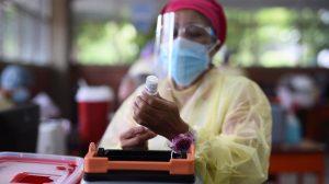 centro de vacunación contra Covid-19 en Usac