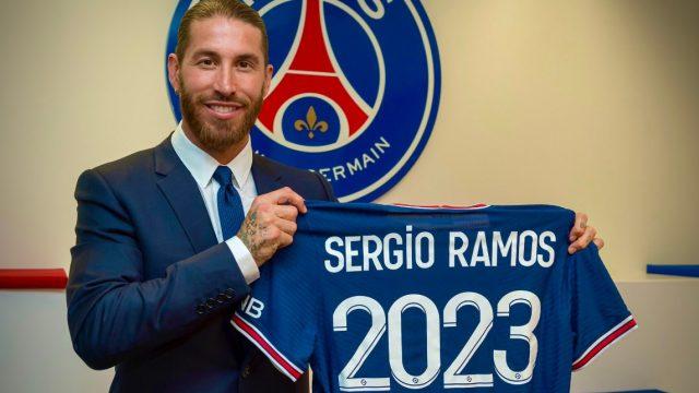 Sergio Ramos ficha por el PSG