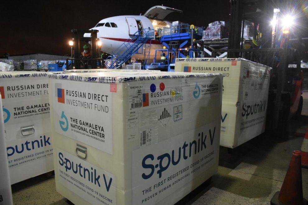 Guatemala recibe 310 mil dosis más de la vacuna Sputnik