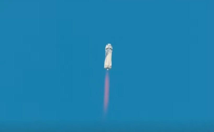 Viaje de Jeff Bezos, propietario de Amazon, al espacio