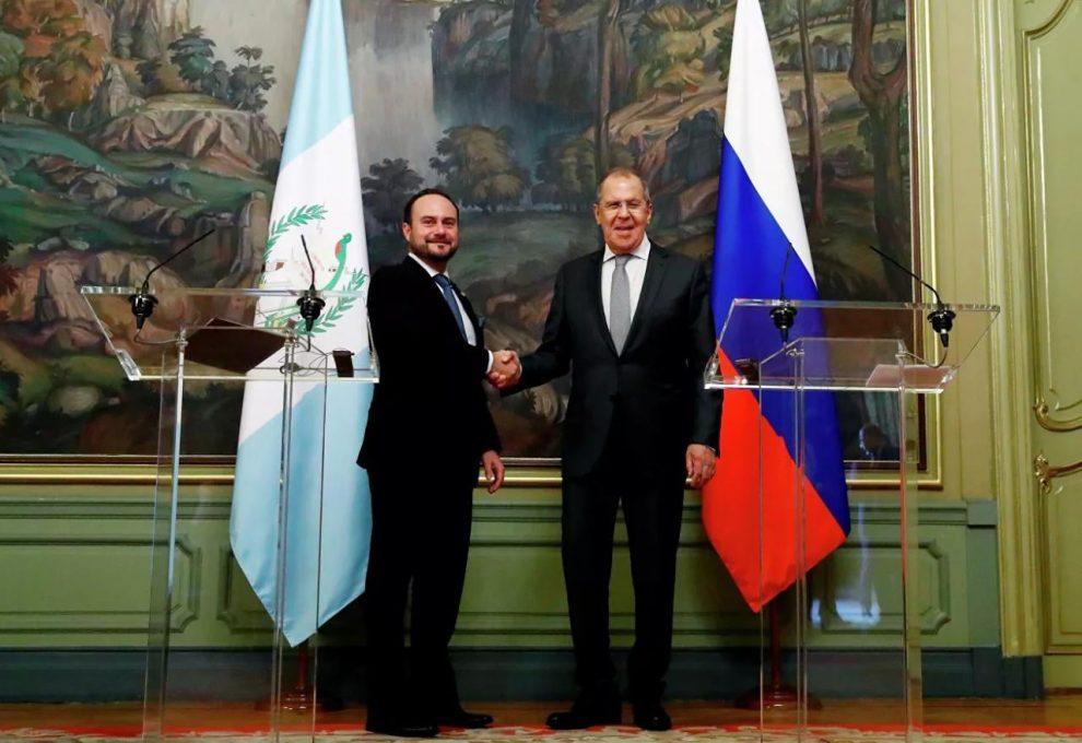 visita del canciller Pedro Brolo a Rusia