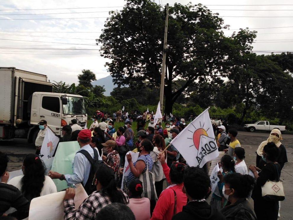 Nueva jornada de manifestaciones; piden que Giammattei y Porras renuncien