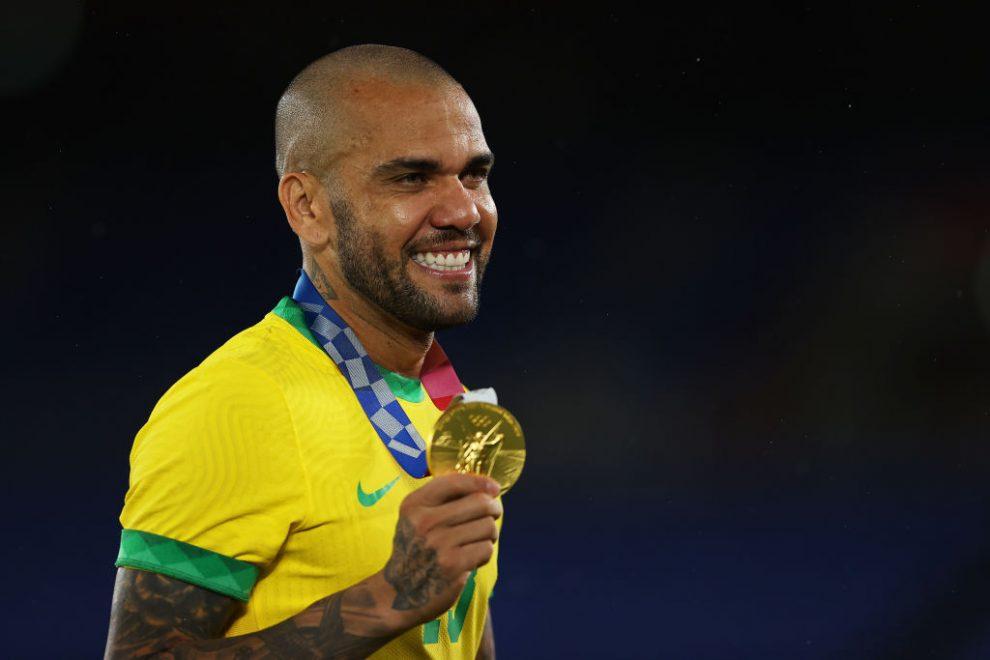 Dani Alves, medallista de oro en Tokio 2020