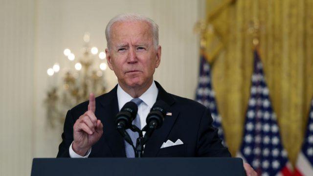 Joe Biden habla sobre Afganistán