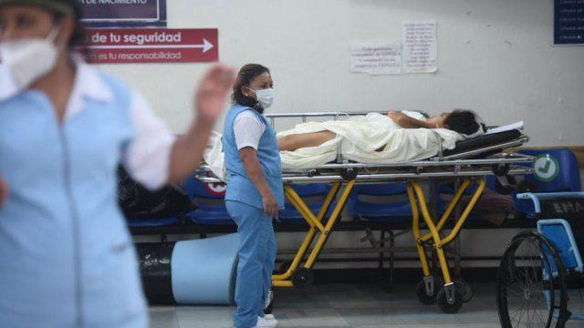 Enfermeras del Hospital General San Juan de Dios