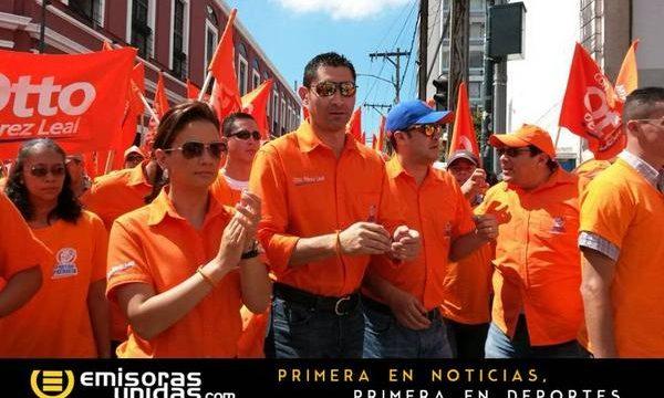 Otto Pérez Leal, campaña del Partido Patriota