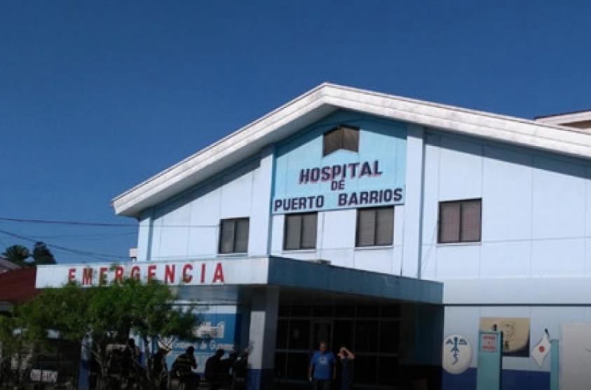 hospital de Puerto Barrios, Izabal