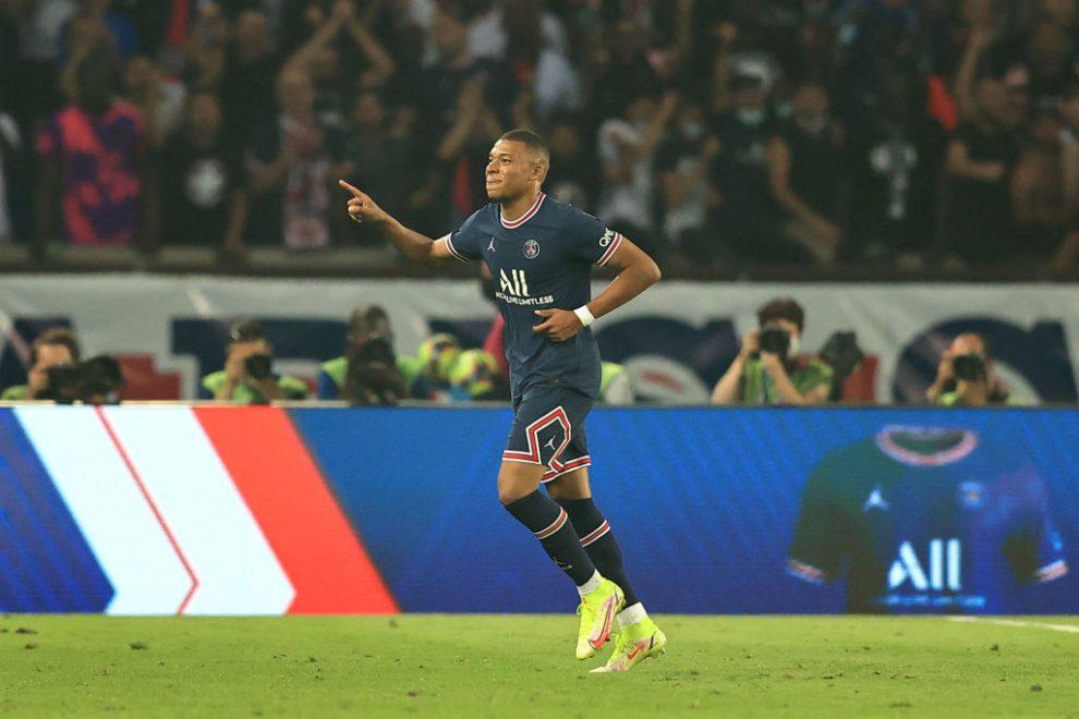 Kylian Mbappé con el PSG