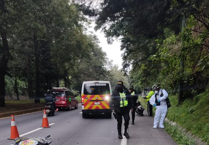 motorista muere en accidente en ruta Interamericana