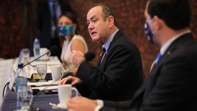 Presidente Alejandro Giammattei participa en Reunión Extraordinaria del Consejo de Ministros de Trabajo de Centroamérica