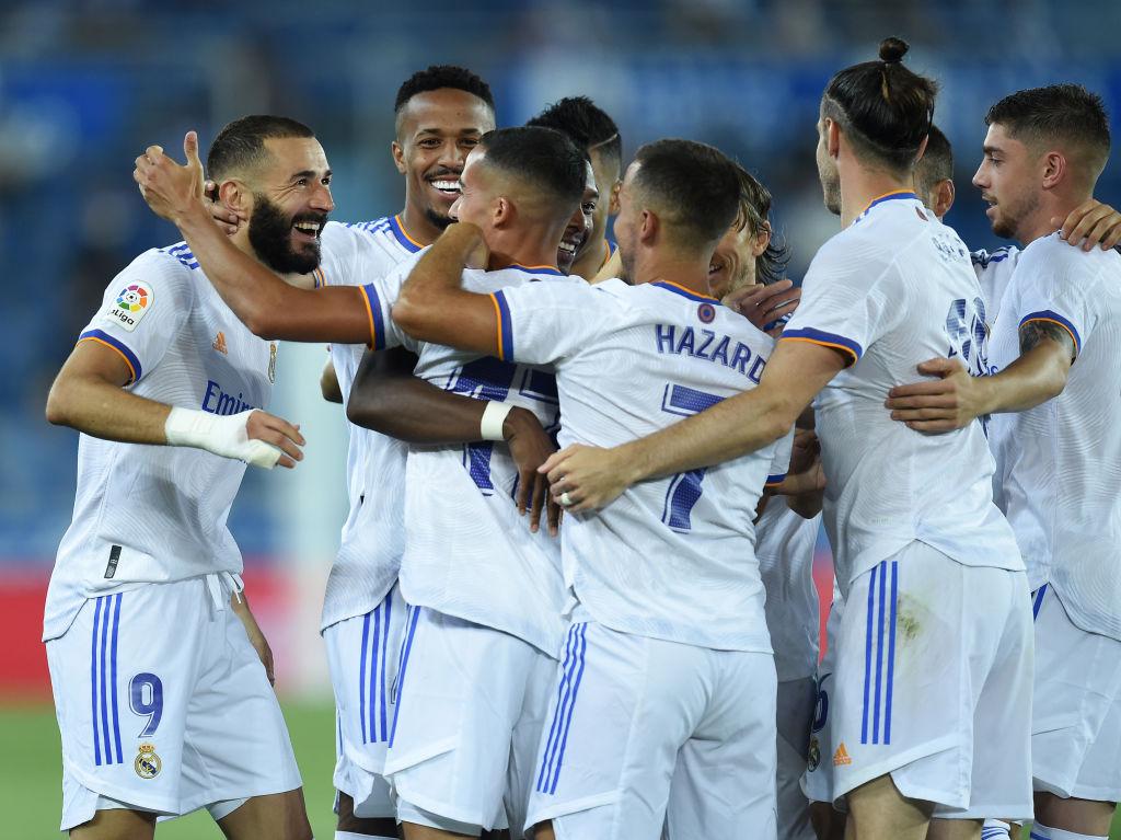 Real Madrid derrota al Alavés