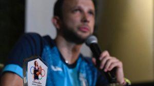 Kevin Cordón recibió un reconocimiento de Cultura y Deportes
