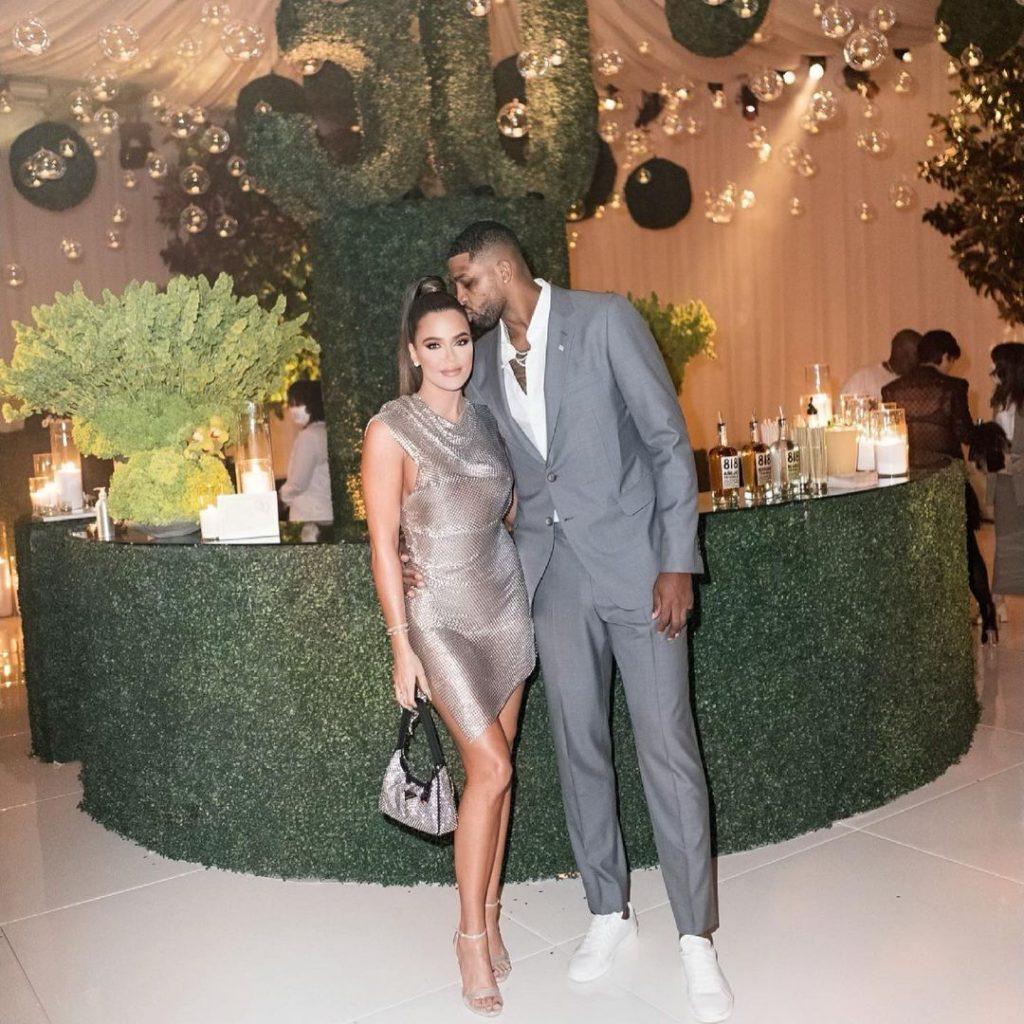 Khloé Kardashian y Trsitan