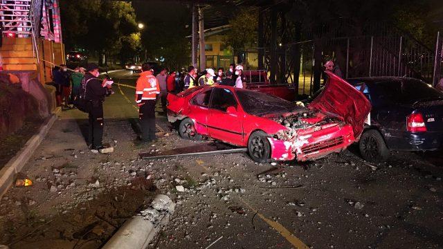 accidente de tránsito en zona 7