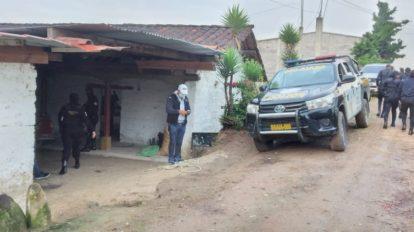 allanamientos en Quiché por asesinato del activista Benoit Pierre Amedee María