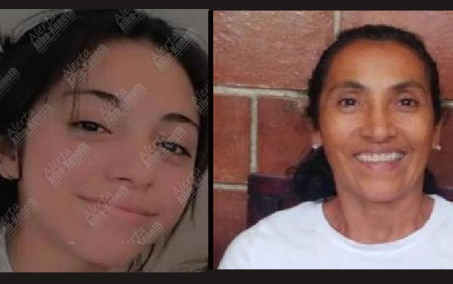 Angie Caseros y Blanca Ramírez