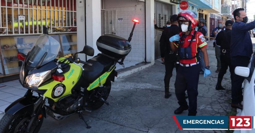 mujer muere en ataque armado en panadería en zona 6