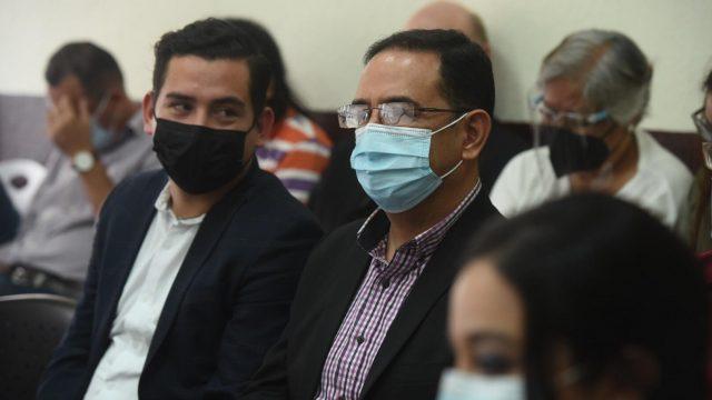 José Manuel Morales y Samuel Morales en audiencia del caso Botín Registro de la Propiedad