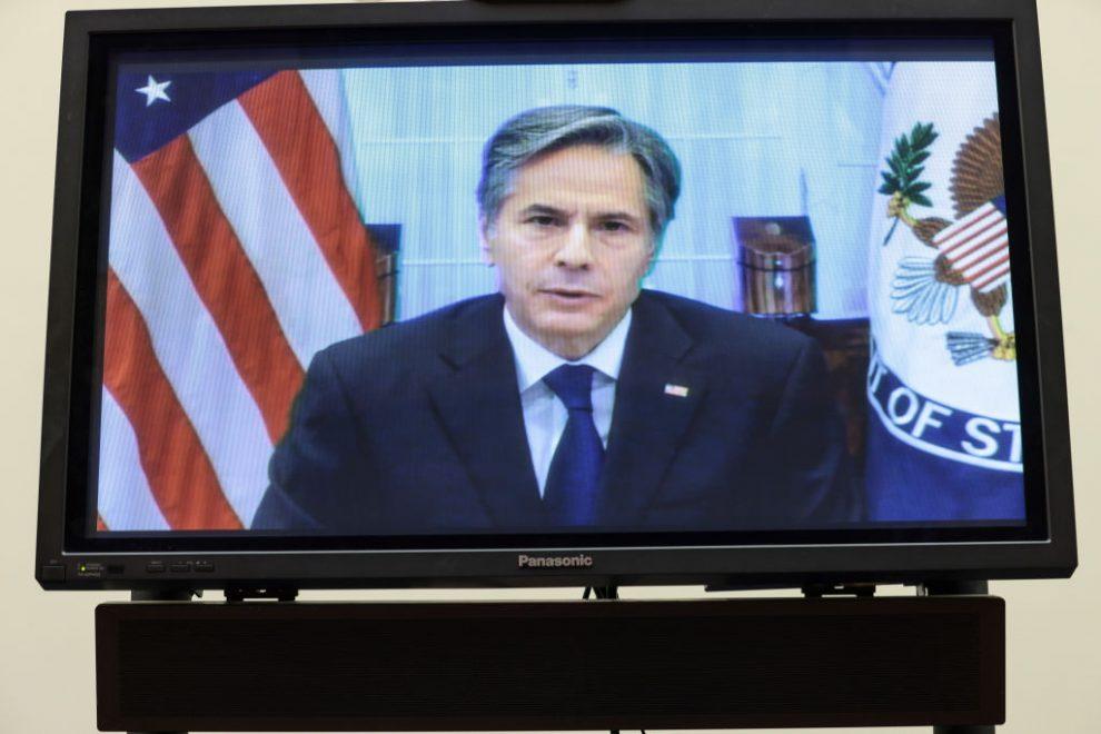 Antony Blinken comparece ante el Congreso de EE. UU.