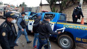 capturados en operativo contra extorsiones