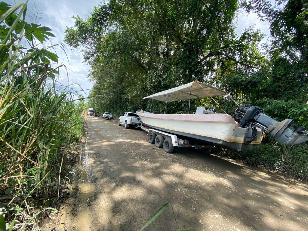 decomisan más de 500 paquetes de cocaína en Puerto Barrios, Izabal