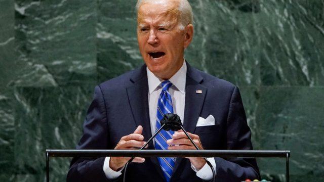 Joe Biden en la Asamblea General de la ONU