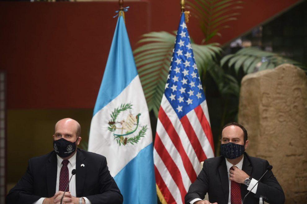 embajadores de Guatemala y Estados Unidos se pronuncian sobre retorno de migrantes