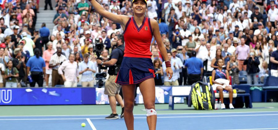 Emma Raducanu gana el US Open 2021