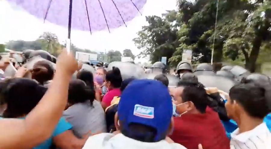 Enfrentamiento en Cuyotenango, Suchitepéquez