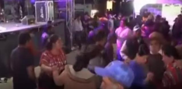 fiesta en Chinique, Quiché