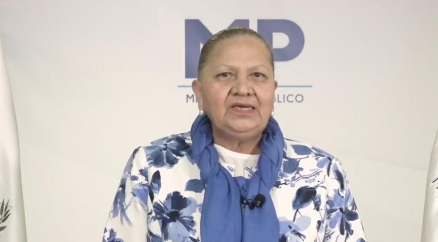 Consuelo Porras, fiscal general y jefa del MP