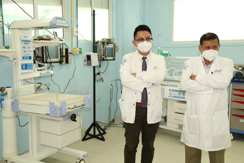 Quetzaltenango implementará intensivo para niños con Covid-19
