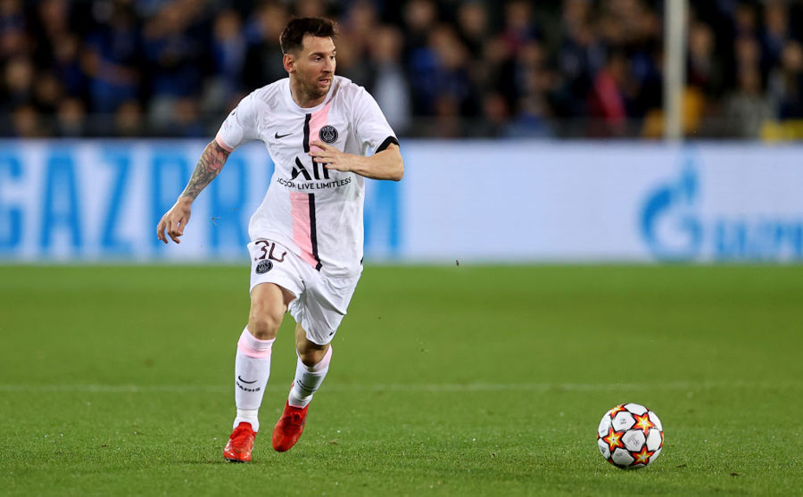 Lionel Messi con el París Saint-Germain