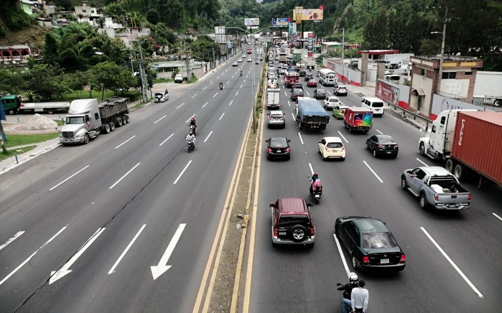 tránsito en Villa Nueva