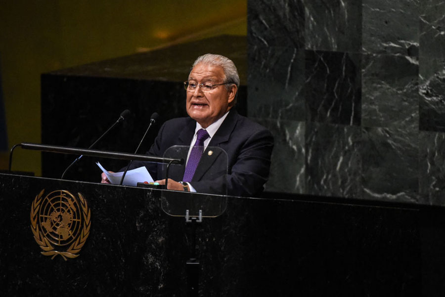 Salvador Sánchez Cerén, expresidente de El Salvador