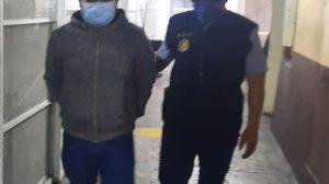 Rudy Amílcar López Pablo, capturado por dañar monumentos
