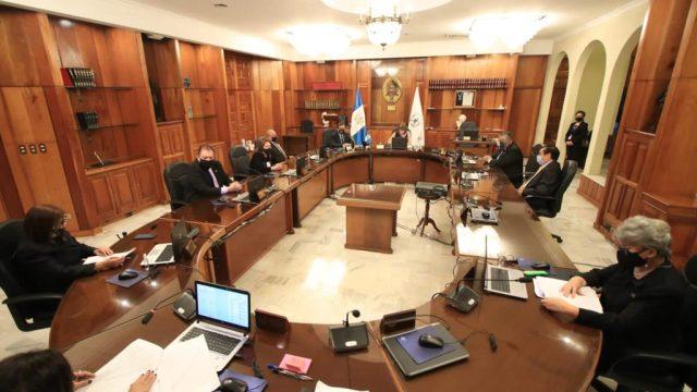CSJ revalida continuidad de magistrados en sus funciones