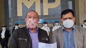 Diputado Aldo Dávila presenta denuncia contra el Ministro de Gobernación