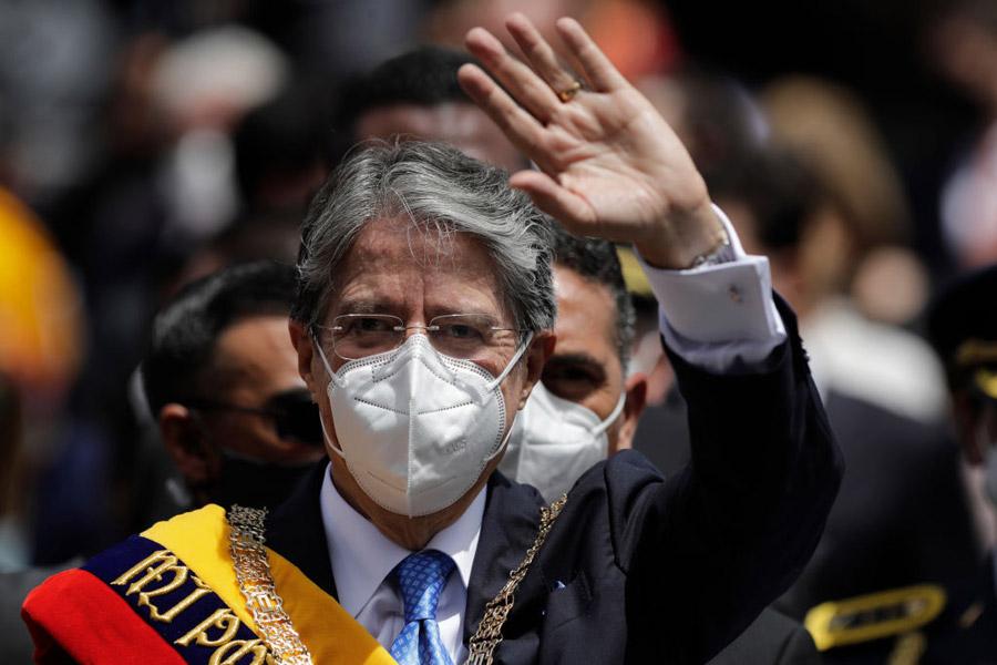 Guillermo Lasso, presidente del Ecuador