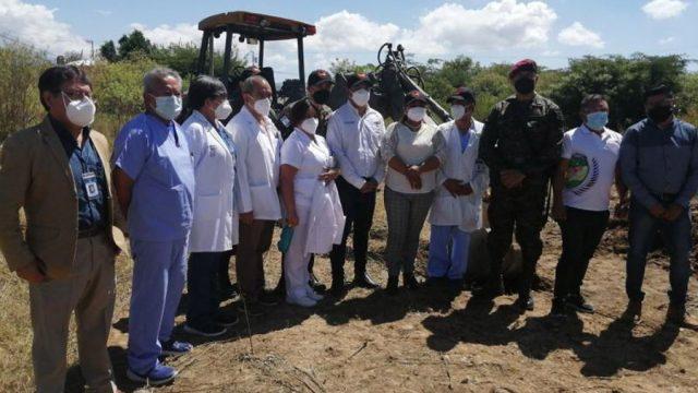 Inicia construcción de hospital Covid-19 en Huehuetenango