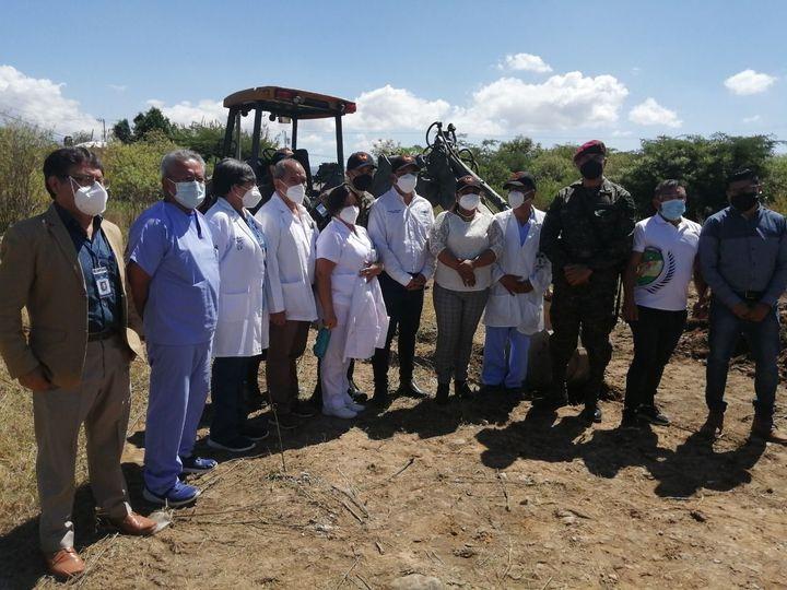 Construyen hospital para casos de Covid-19 en Huehuetenango