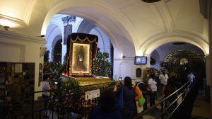 Fieles católicos acuden al templo La Merced para celebrar a San Judas Tadeo