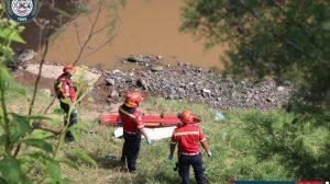 localizan cadáver de hombre bajo puente La Prosperidad, Villa Nueva